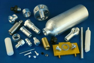 Submersible Systems can product parts from aluminum and plastics.